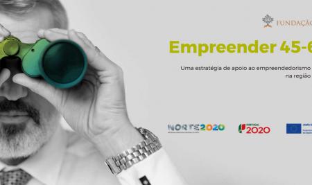 Empreender 45-60 disponibiliza estudos de apoio ao empreendedorismo da Região Norte