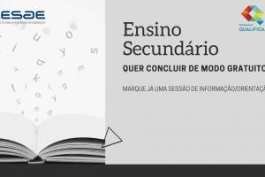 ENSINO SECUNDÁRIO | INFORMAÇÃO E ORIENTAÇÃO | CENTRO QUALIFICA CESAE