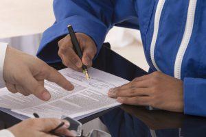 contrat signature